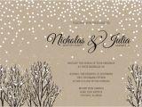 Winter Wedding Invitation Templates Winter Wedding Invitation Wording Winter Wonderland