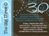 Witty 30th Birthday Invitation Wording Funny 30th Birthday Party Invitation Wording