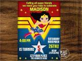 Wonder Woman Party Invitation Template Wonder Woman Invitation Wonder Woman Party Invitation