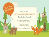 Woodland Birthday Invitation Template 92 Best Images About First Birthday Ideas On Pinterest