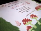 Woodland Fairy Party Invitations Kate Landers events Llc Woodland Fairy Birthday Party