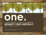 Woodland themed First Birthday Invitations forest First Birthday Party Invitation Woodland forest Party