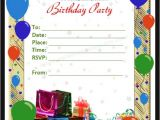 Word Birthday Party Invitation Template Free 63 Printable Birthday Invitation Templates In Pdf