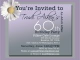 Wording for 60 Birthday Party Invitations 60th Birthday Party Invitations