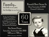 Wording for 60 Birthday Party Invitations 60th Birthday Party Invitations Wording