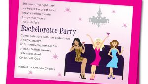 Wording for A Bachelorette Party Invitation Bachelorette Party Invitation Wording