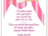 Wording for Bridal Shower Invitations for Gift Cards Wedding Shower Invitation Wording – Gangcraft