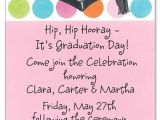 Wording for Graduation Party Invitations Graduation Party Wording Graduation Tastic Pink