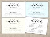 Wording for Hotel Information On Wedding Invitations Wedding Invitation Accommodation Card Zoom Invi with
