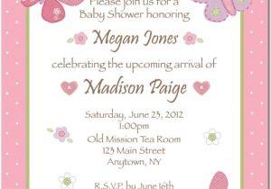 Wording On Baby Shower Invites Wording for Baby Shower Invitation