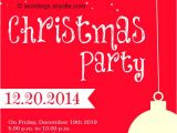 Work Christmas Party Invitation Template Christmas Party Invitation Wordings Wordings and Messages