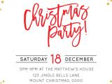 Work Christmas Party Invitation Template Festive Christmas Fs Christmas Party Invitations