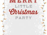 Work Party Invitation Template 25 Printable Christmas Invitation Templates In