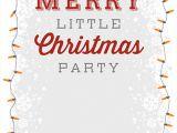 Work Xmas Party Invitation Template 25 Printable Christmas Invitation Templates In