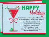 Work Xmas Party Invitation Template Christmas Cocktail Party Invitation Printable Holiday