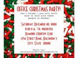 Work Xmas Party Invitation Template Office Christmas Party Invitations