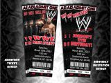 Wwe Birthday Party Invitations Best 20 Wrestling Party Ideas On Pinterest