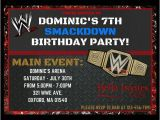 Wwe Wrestling Birthday Party Invitations Best 20 Wwe Party Ideas On Pinterest Wrestling Party