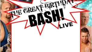 Wwe Wrestling Party Invitations Wwe Party Swimming Pool Parties and Party Invitation