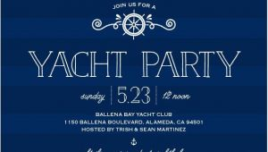 Yacht Party Invitation Template Stunning Yacht Party Invitations Cw65th Yacht Party In