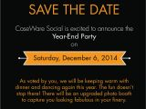 Year End Party Invitation Template Year End Function Invitations