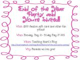 Year End Party Invitation Template Year End Party Invitation Card