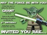 Yoda Birthday Invitations Jackson S 5th Birthday On Pinterest