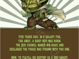 Yoda Birthday Party Invitations Star Wars Yoda Printable Birthday Party Invitation Diy