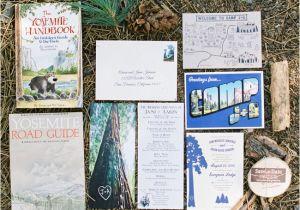 Yosemite Wedding Invitations Laid Back Yosemite Wedding Jami Aaron