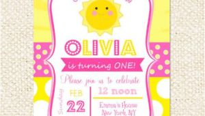 You are My Sunshine Birthday Invitation Template Sunshine Birthday Invitations You are My Sunshine Invitations
