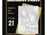 Zazzle 21st Birthday Invitations 21st Birthday Party Invitation