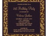 Zazzle 21st Birthday Invitations Leopard 21st Birthday Party Invitation