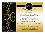 "Zazzle 60th Birthday Invitations 60th Birthday Party Invitations 5"" X 7"" Invitation Card"