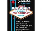 Zazzle 60th Birthday Invitations Las Vegas 60th Birthday Party Invitation