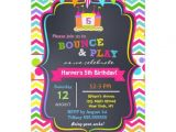 Zazzle Birthday Party Invitations Bounce House Birthday Party Invitations Girl