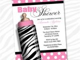 Zebra Print Baby Shower Invites Unavailable Listing On Etsy