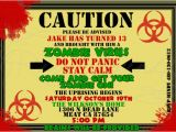 Zombie Birthday Invitation Template Printable Zombie Invitations for A Teen Zombie Party