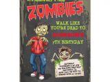 Zombie Birthday Invitation Template Zombie Birthday Party Invitations Zazzle