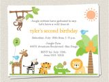Zoo Party Invitation Template Free 10 Birthday Party Invitations Jungle Zoo by