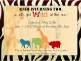 Zoo Party Invitation Template Free Free Printable Animal Party Invitation