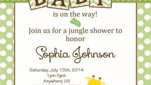 Zoo themed Baby Shower Invitations Free Safari Baby Shower Invitations Google Search
